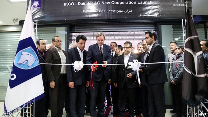 Iran Wochengalerie KW7 - Daimler und Iran Khodro Kooperationszentrum (MEHR)