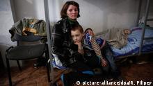 Ukraine Flüchtlinge aus der Ost-Ukraine