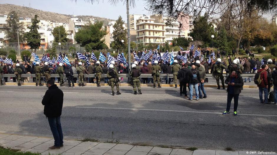 Golden Dawn seeks to exploit Greek refugee crisis   Europe ...