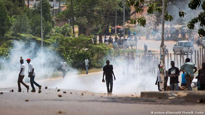 Uganda Kampala Wahlen Ausschreitungen Proteste