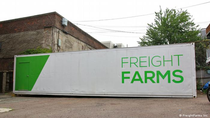 FreightFarms hydroponic container farm