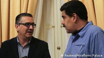 Venezuela Caracas Minister Miguel Perez Abad Nicolas Maduro