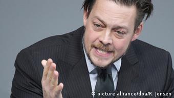 Der Grünen-Politiker Konstantin von Notz (Foto: picture alliance/dpa/R. Jensen)