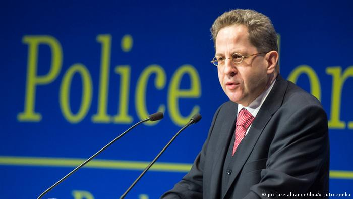 Hans-Georg Maaßen, chief of Germany's internal intelligence agency