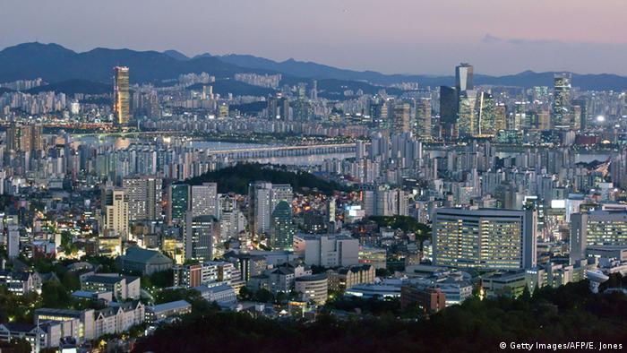 Skyline Seoul South Korea (Getty Images/AFP/E. Jones)
