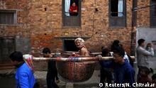 Nepal religiöses Fest Swasthani Bratakatha