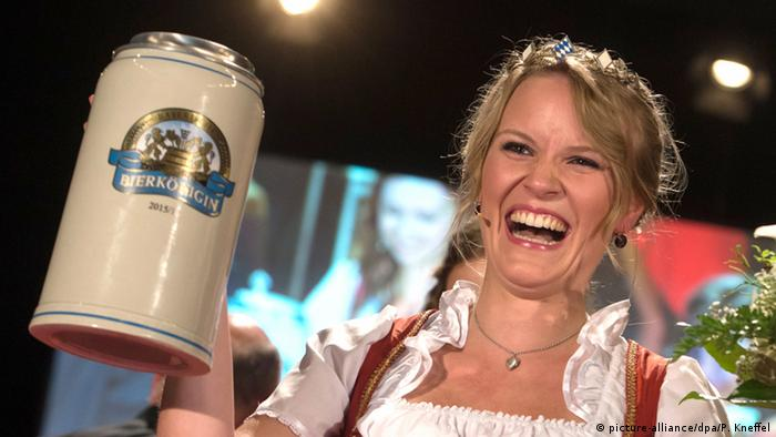 Bavarian Beer Queen Marlene Speck, Copyright; picture-alliance/dpa/P. Kneffel