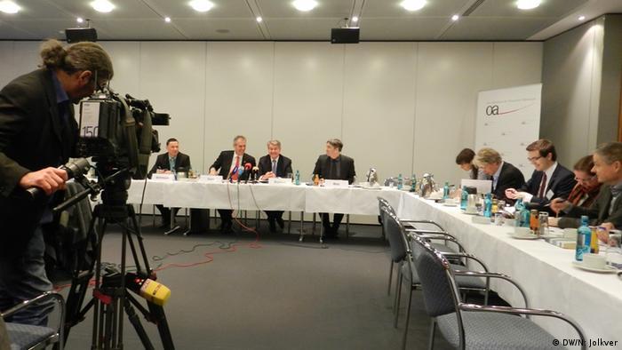 На пресс-конференции Восточного комитета немецкой экономики