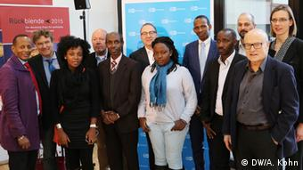 Representatives from the Rwanda Media Project, Rhineland-Palatinate, the Rwandan embassy and DW Akademie, Foto: Alice Kohn/DW Akademie