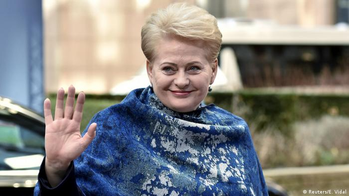 Dalia Grybauskaite (Reuters/E. Vidal)