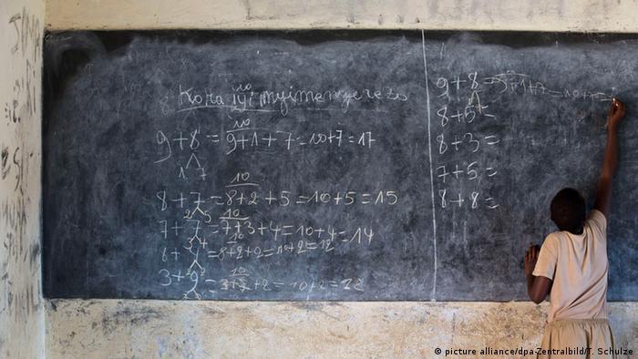 Burundian school in Rumonge picture alliance/dpa-Zentralbild/T. Schulze
