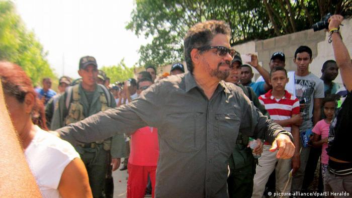 Chef der FARC Luciano Marin Arango in Conejo Kolumbien