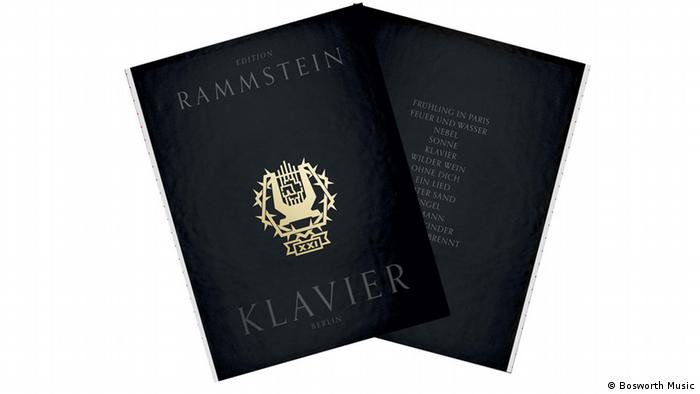 Rammstein Klavier notes (Bosworth Music)