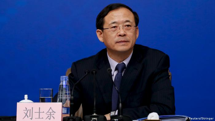 China Wirtschaft Liu Shiyu CSRC (Reuters/Stringer)