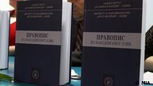 Neue mazedonische Rechtschreibung vorgestellt