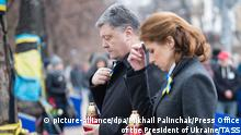 Ukraine Gedenken der Maidan-Aktivisten in Kiew