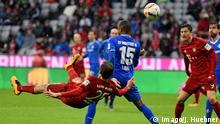 Bundesliga Bayern München gegen SV Darmstadt 98 Thomas Müller Fallrückzieher