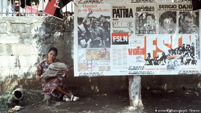 Nicaragua Wahlen 1984
