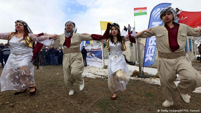 Irak Winterfestival in Kurdistan (Getty Images/AFP/S. Hamed)