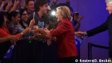 USA Vorwahl Demokraten in Nevada - Sieg Hillary Clinton