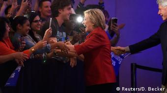 USA Vorwahl Demokraten in Nevada - Sieg Hillary Clinton
