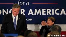 USA Vorwahl Republikaner in South Carolina - Ausstieg Jeb Bush