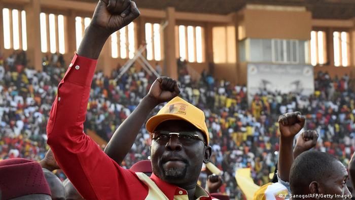 Niger Wahlen Kandidat Ibrahim Yacouba