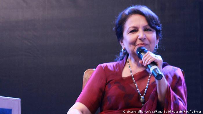 Pakistan Schauspielerin Sharmila Tagore Lahore zweitägiges Literaturfestival (picture-alliance/dpa/Rana Sajid Hussain/Pacific Press)