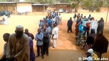 Niger Wahl Wähler in Niamey
