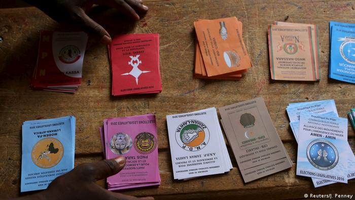Niger Wahllokal in Niamey