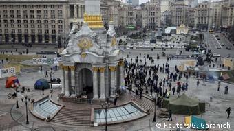 Ukraine Kiew Maidan Demonstration für Reformen