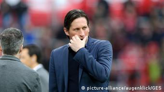 Bundesliga Bayer Leverkusen - Borussia Dortmund Roger Schmidt