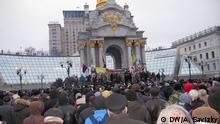 Ukraine Kiew Maidan Anti Regierung Demonstration