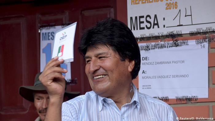 Bolivien Referendum Verfassungsreform Evo Morales