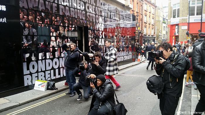 London Fashion Week - Photographers