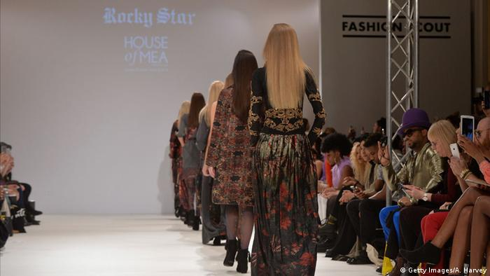 London Fashion Week - House of Mea