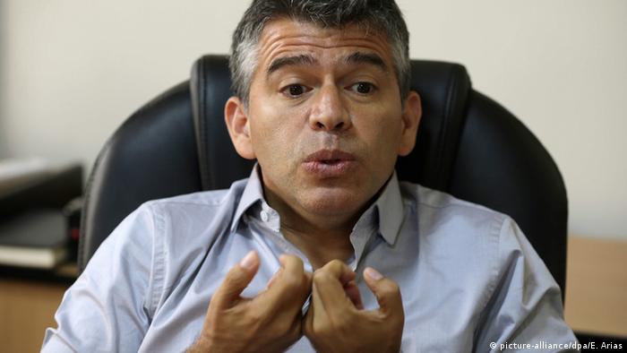 Peru Präsidentschaftskandidat Julio Guzman