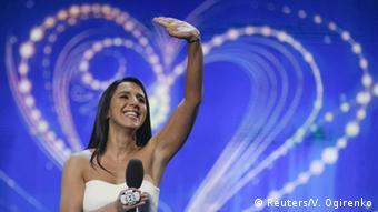 Susana Jamaladinova. Photo: Reuters/V. Ogirenko