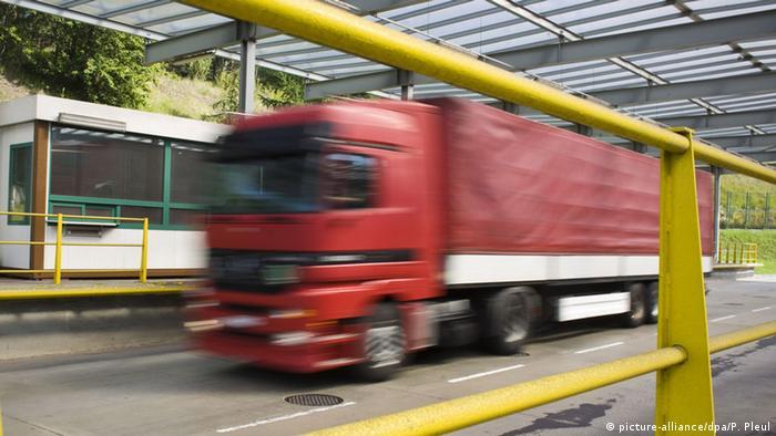 Symbolbild EU Schengen-Raum Verkehr Transit Wirtschaft