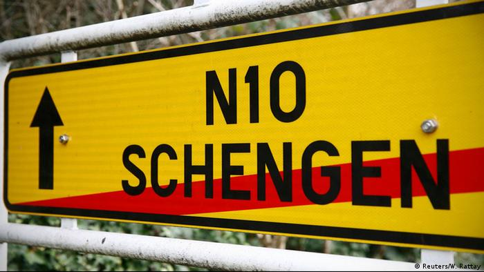 Symbolbild EU Schengen-Raum Ende Schengener Abkommen (Reuters/W. Rattay)