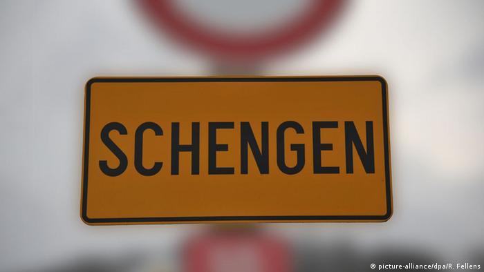 Symbolbild EU Schengen-Raum Ende Schengener Abkommen (picture-alliance/dpa/R. Fellens)