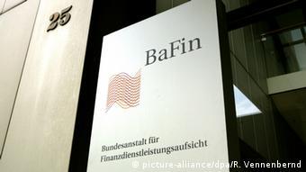 Symbolfoto BaFin (picture-alliance/dpa/R. Vennenbernd)