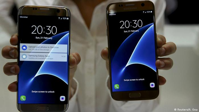 Barcelona Mobile World Congress 2016 Samsung S7 und S7 edge