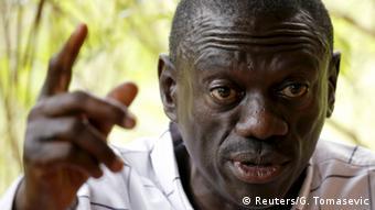Uganda Wahlen Kizza Besigye Anführer der Opposition
