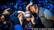 Barcelona Mobile World Congress 2016 Samsung G S 7 VR Gear