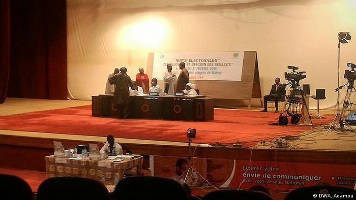 Niger Wahlzentrale Niamey