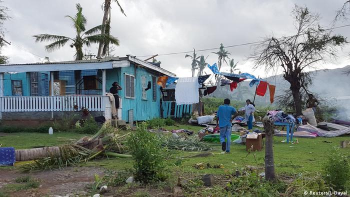 Cyclone Fiji Islands