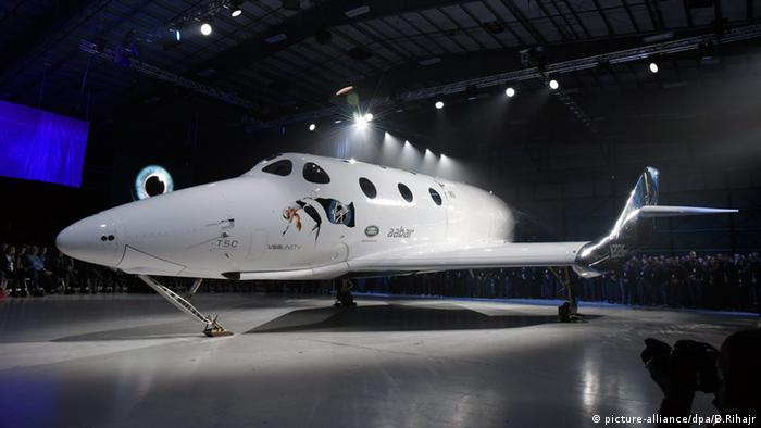 Virgin Galactic SpaceShipTWO Kalifornien USA