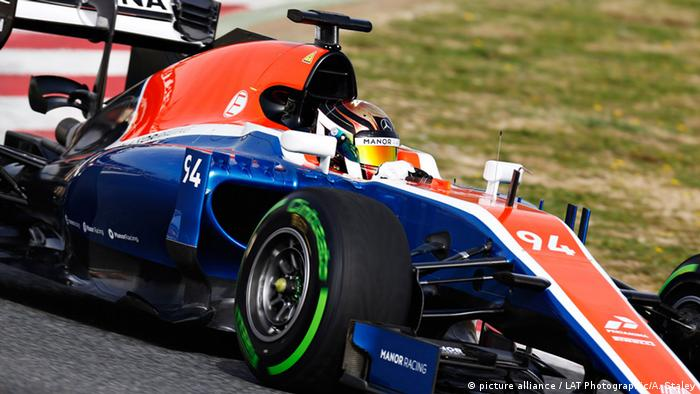 Spanien Barcelona Manor Racing MRT05