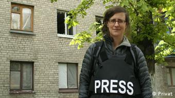 Ютта Зоммербауер - одна з небагатьох західних журналісток, які пишуть про повсякдення людей по обидва боки лінії розмежування